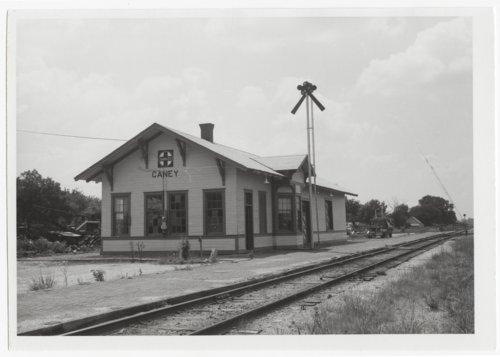 Atchison, Topeka and Santa Fe Railway Company depot, Caney, Kansas - Page
