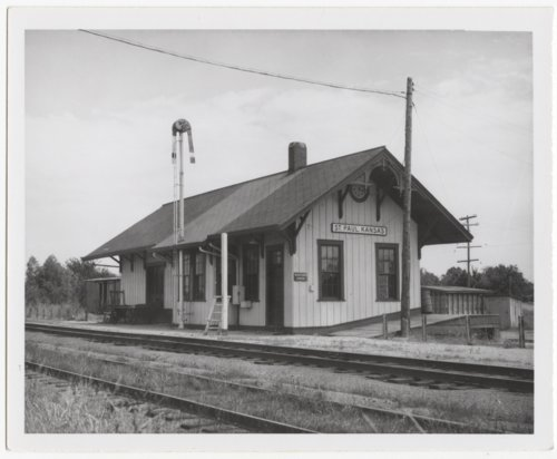 Missouri-Kansas-Texas Railroad depot, St. Paul, Kansas - Page