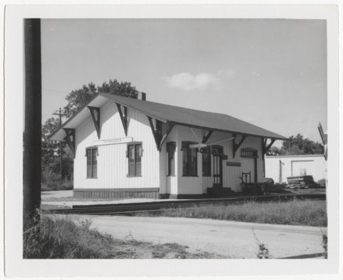 Union Pacific Railroad Company depot, Tonganoxie, Kansas - Page