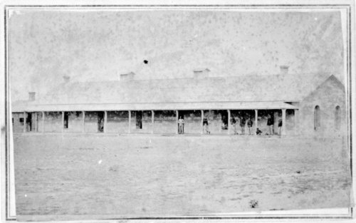 Barracks, Fort Wallace, Kansas - Page