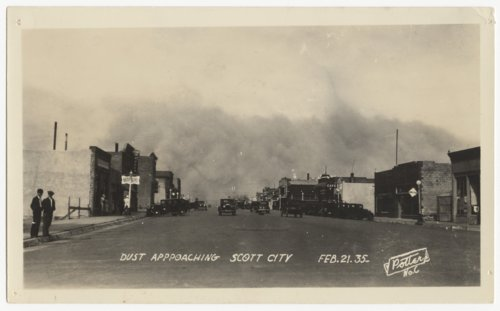 Dust storm, Scott City, Kansas - Page