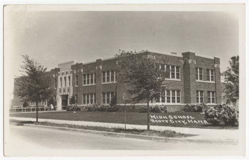 High School, Scott City, Kansas - Page