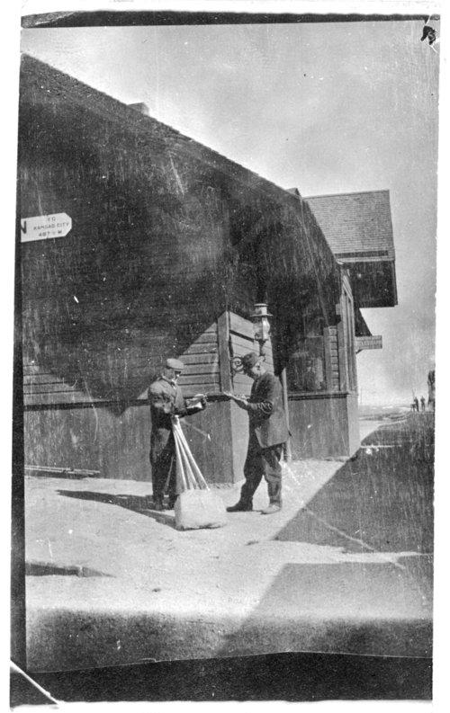 Union Pacific Railroad depot, Weskan, Kansas - Page