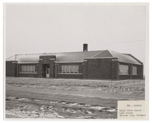 Healy grade school, Lane County, Kansas - Page