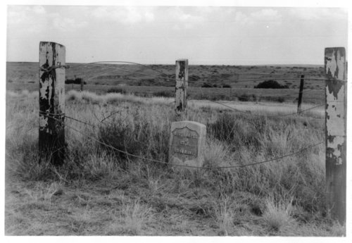 Grave marker of Christian F. Hamper, Rawlins County, Kansas - Page