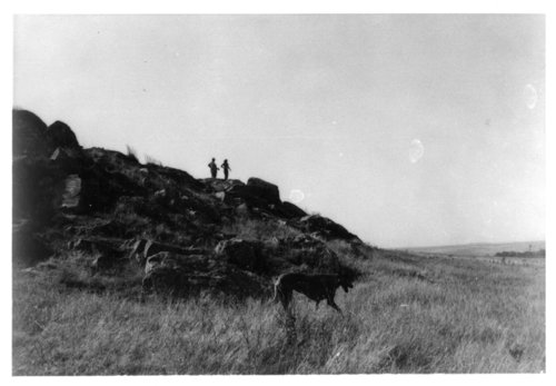 "Bluff at ""100 Head Draw,"" Rawlins County, Kansas - Page"