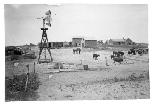 Two views of the James Malone farmstead, Rawlins County, Kansas - Page