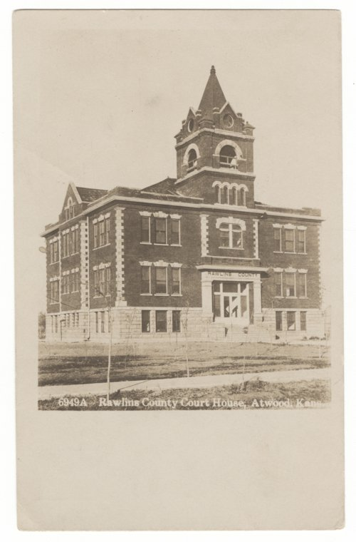 Rawlins County courthouse, Atwood, Kansas - Page