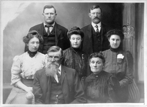 Hiram Brown family, Lane County, Kansas - Page