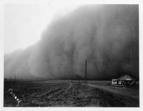Dust storm, Lane County, Kansas - Page