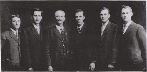 Henry Smith Hancuff and his sons in Holton, Kansas - Page