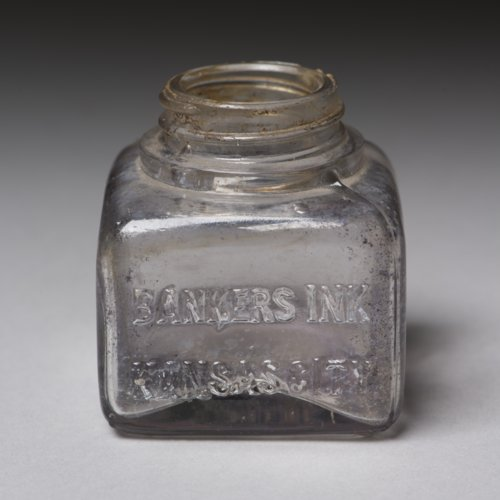 Banker's Ink Bottle from Fort Hays - Page