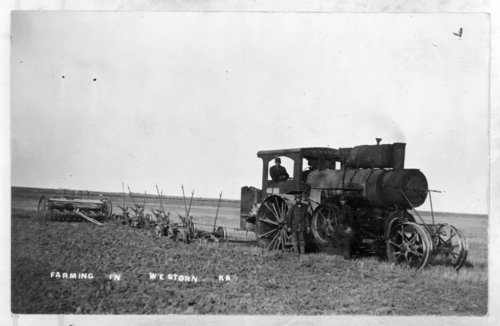 Avery under mount steam engine, Lane County, Kansas - Page