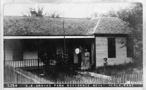 Graves farm house, Lane County, Kansas - Page