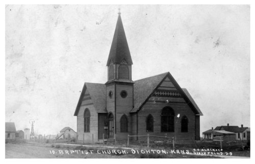 Dighton Baptist Church, Lane County, Kansas - Page