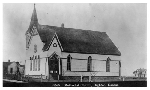Dighton Methodist Church, Dighton, Lane County, Kansas - Page