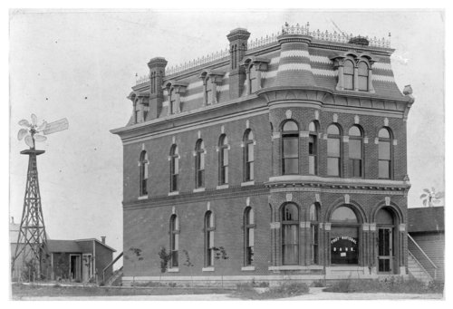 First National Bank building, Dighton, Lane County, Kansas - Page