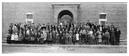 Healy, Lane County, Kansas consolidated school group picture - Page