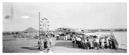 Picnic and baseball game, Shields, Lane County, Kansas - Page
