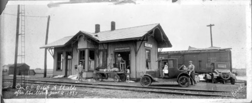 Missouri Pacific Railroad depot, Shields, Kansas - Page