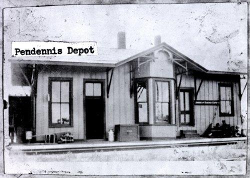 Missouri Pacific Railroad depot, Pendennis, Kansas - Page