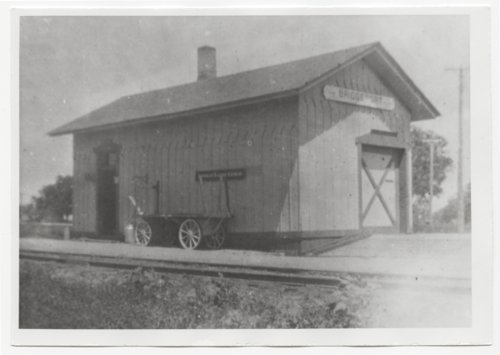 Missouri Pacific or Union Pacific depot, Bridgeport. Kansas - Page