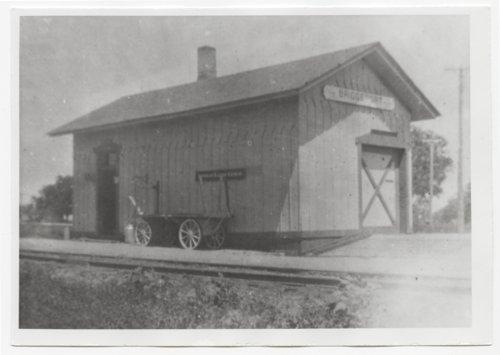Missouri Pacific or Union Pacific depot, Bridgeport. Kansas - Page