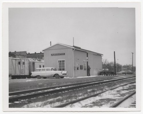 St. Louis-San Francisco Railway depot, Pleasanton, Kansas - Page
