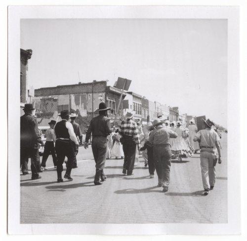 Centennial parade scenes in Salina, Kansas - Page