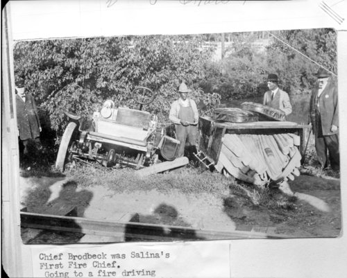 Fire truck, Salina, Kansas - Page