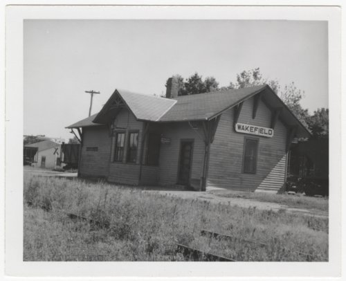 Union Pacific Railroad Company depot, Wakefield, Kansas - Page