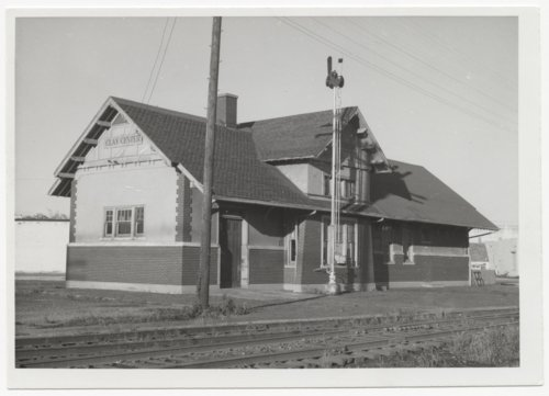 Chicago, Rock Island & Pacific Railroad depot, Clay Center, Kansas - Page