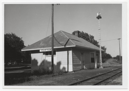 Missouri Pacific Railroad depot, Clifton, Kansas - Page