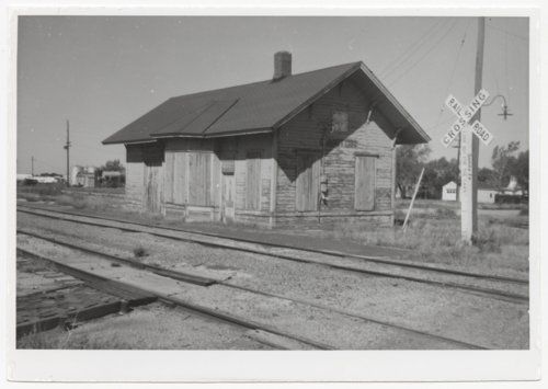Atchison, Topeka and Santa Fe Railway Company depot, Canton, Kansas - Page