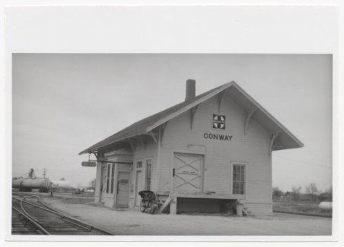 Atchison, Topeka and Santa Fe Railway Company depot, Conway, Kansas - Page