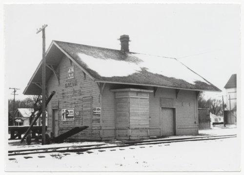 Atchison, Topeka & Santa Fe Railway Company depot, Galva, Kansas - Page