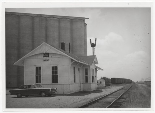 Chicago, Rock Island & Pacific Railroad depot, Inman, Kansas - Page