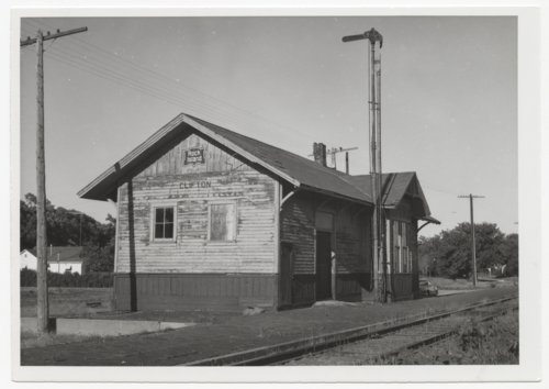 Chicago, Rock Island & Pacific Railroad depot, Clifton, Kansas - Page