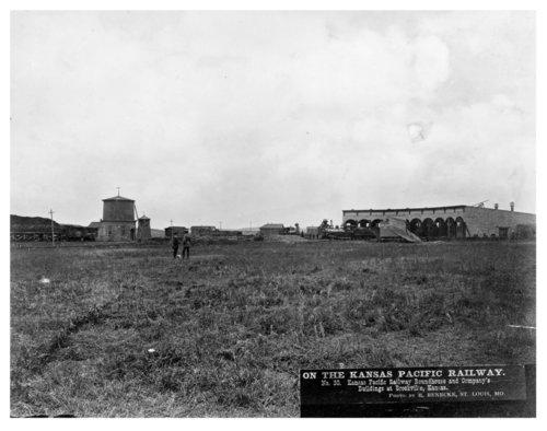 Kansas Pacific Railway roundhouse, Brookville, Kansas - Page