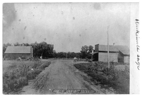 Main street, Headville, Kansas - Page