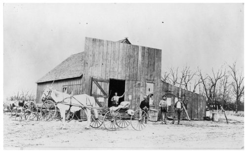 Blacksmith shop, Hedville, Kansas - Page
