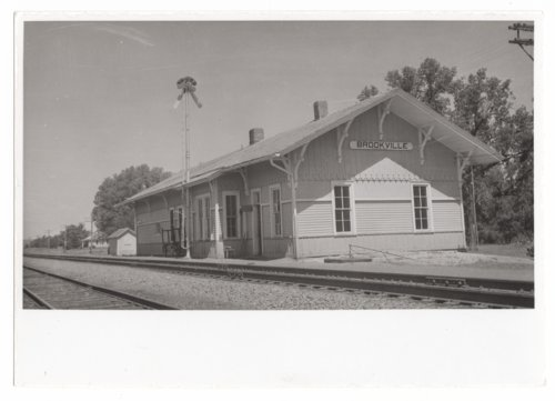Union Pacific Railroad Company depot, Brookville, Kansas - Page