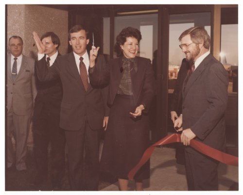 Governor John Carlin and Elizabeth Dole in Wichita, Kansas - Page