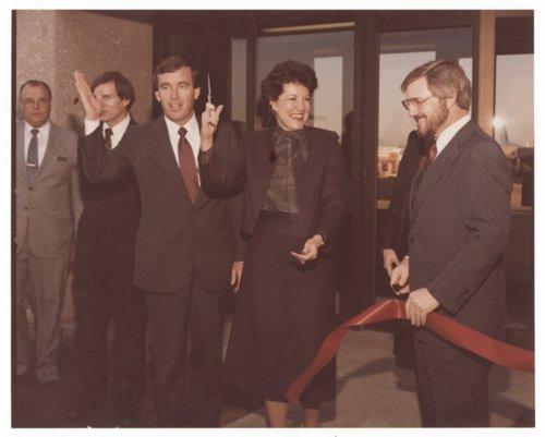 Governor John Carlin and Elizabeth Dole in Wichita, Kansas - Page