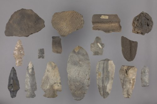 Artifact Collection from the Green Site in Riley County - Page