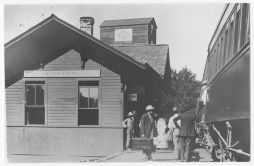 Railroad depot, Easton, Kansas - Page