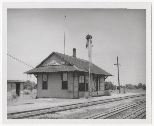 Missouri-Kansas-Texas Railroad depot, West Mineral, Kansas - Page