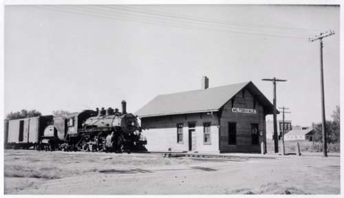 Union Pacific Railroad Company depot, Miltonvale, Kansas - Page