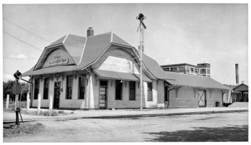 Union Pacific Railroad Company depot, Clay Center, Kansas - Page