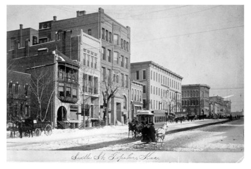 Street scene, Topeka, Shawnee County, Kansas - Page
